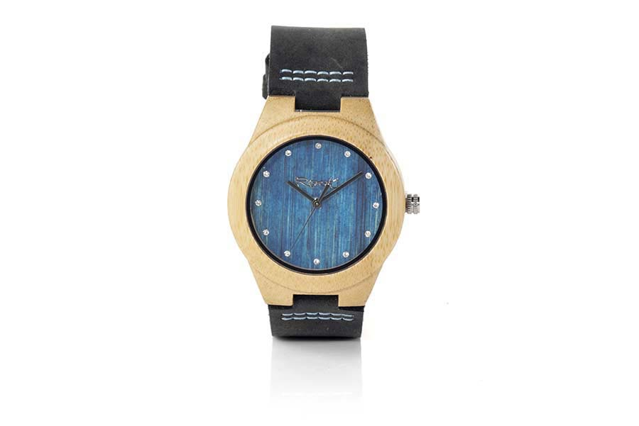 Eco Watch made of Maple modelo DANA BLUE.  | Root® Watches