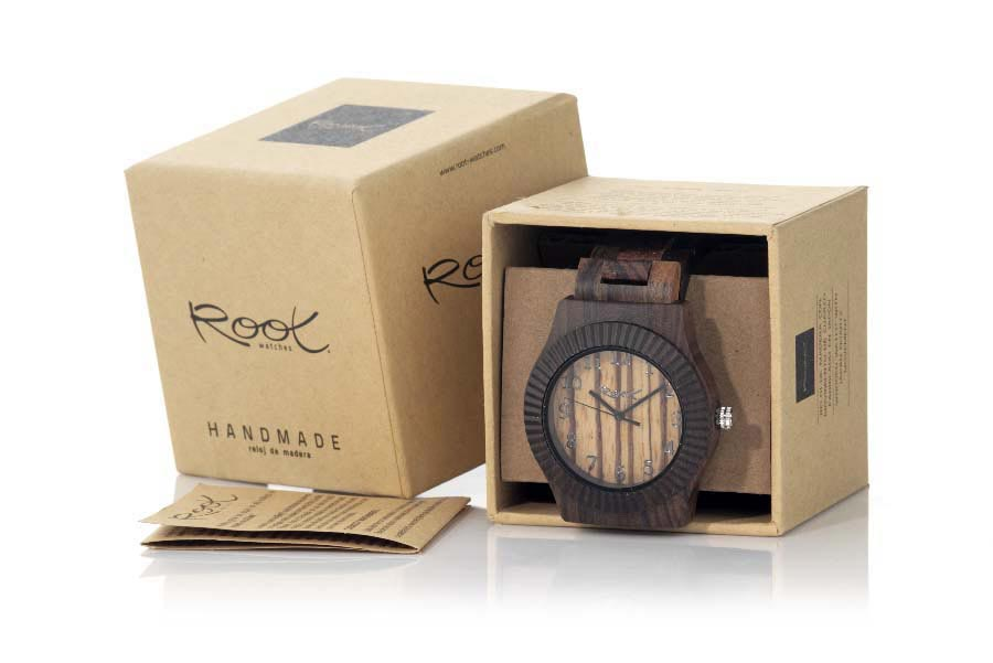 Eco Watch made of Zebra modelo RUMA LIGHT | Root® Watches
