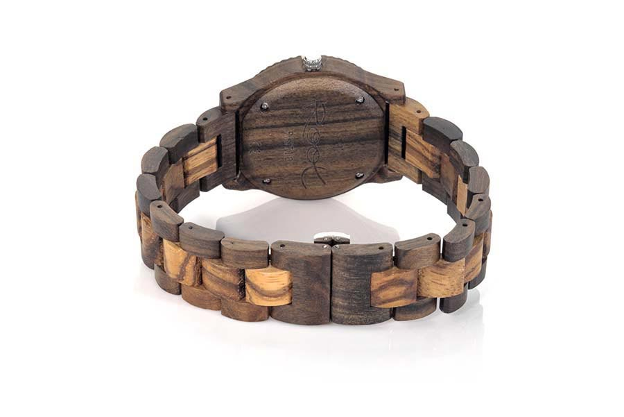 Reloj de Madera Zebrano RUMA LIGHT | Root® Watches