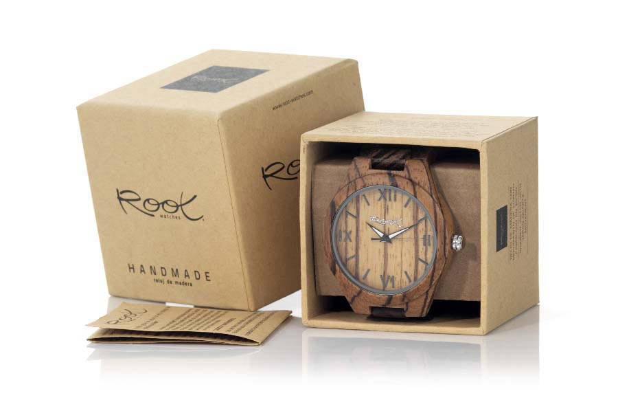 Eco Watch made of Zebra WILD NATURA...  | Root® Watches