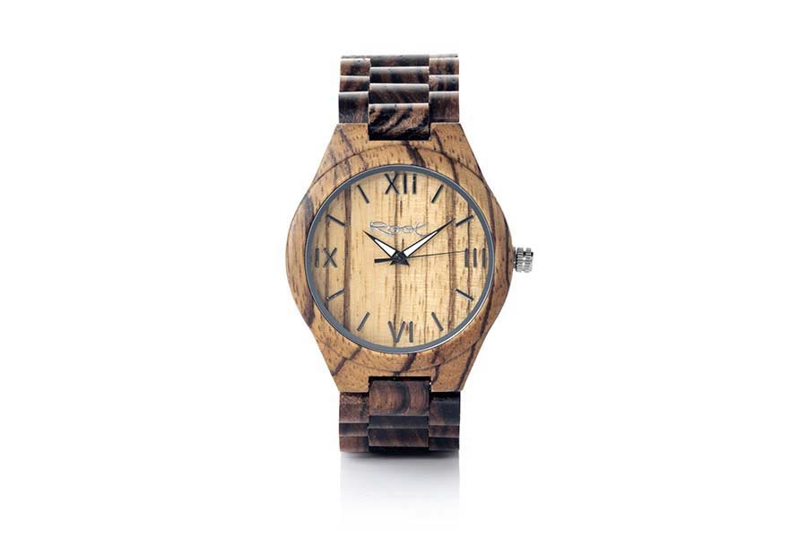 Eco Watch made of Zebra modelo WILD NATURA.  | Root® Watches