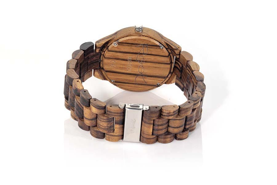 Eco Watch made of Zebrano RJST11 | Root® Watches