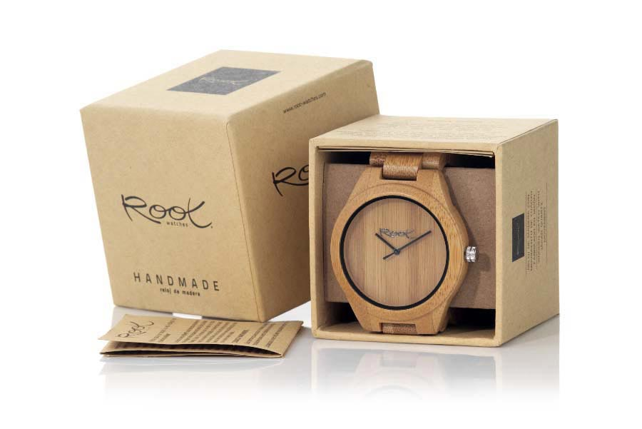 Eco Watch made of Bamboo modelo MINIMAL MAN | Root® Watches