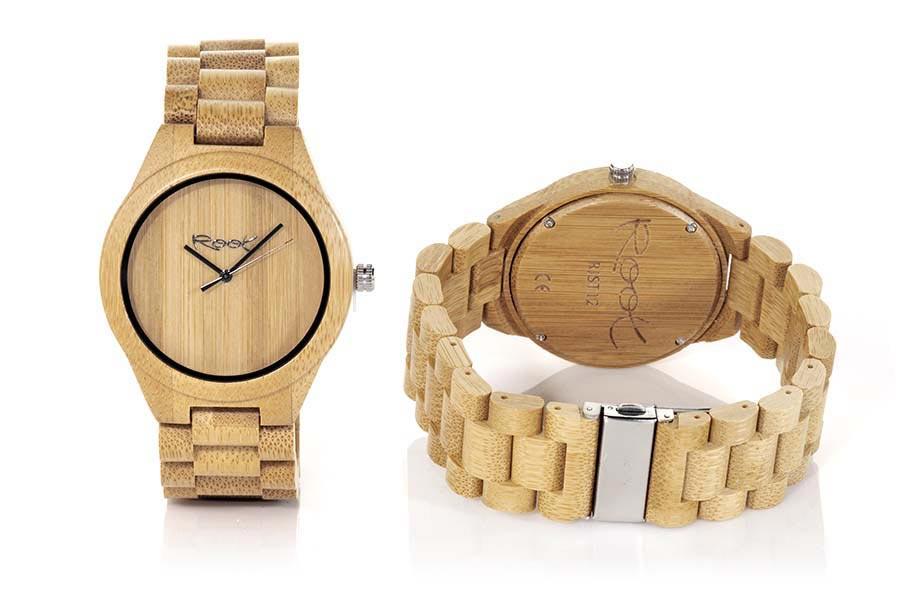 Wood eyewear of Bamboo RJST12 | Root Sunglasses ®