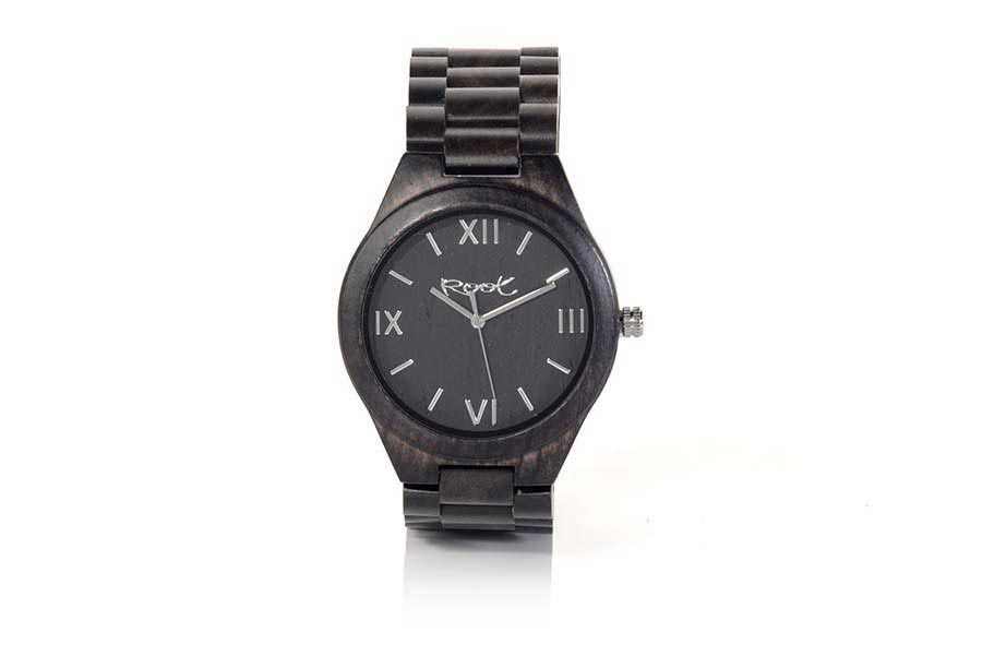 Eco Watch made of Ebony NIGHT ROMAN | Root® Watches