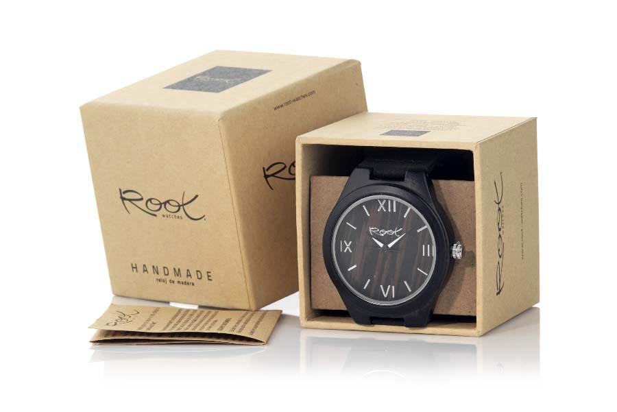 Eco Watch made of Ébano EBONY SOUL | Root® Watches