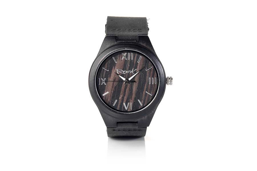Reloj de Madera Ébano EBONY SOUL | Root® Watches
