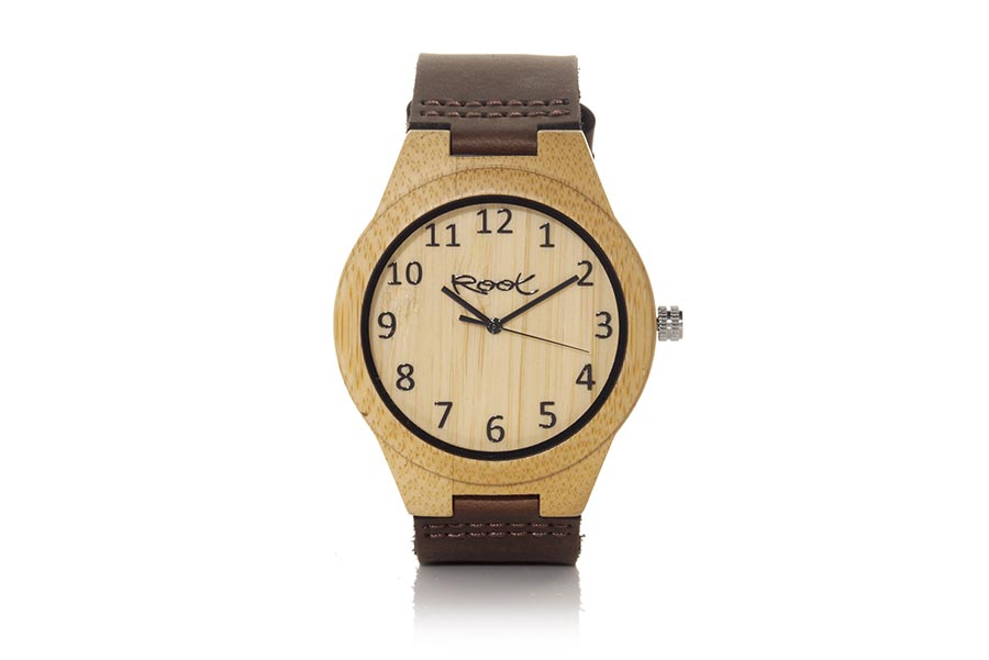 Eco Watch made of Bamboo LIGHT SAND...  | Root® Watches
