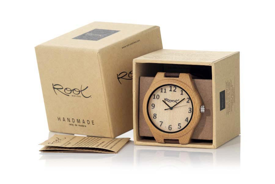 Eco Watch made of Bambú LIGHT SAND | Root® Watches