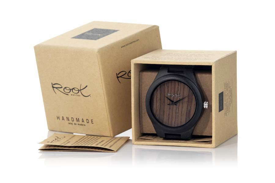 Eco Watch made of Ebony RJST18 | Root® Watches