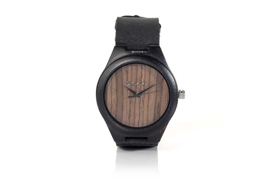 Eco Watch made of Ebony modelo MINIMAL EBONY.  | Root® Watches