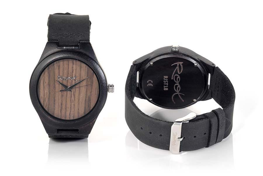 Reloj de Madera Ébano MINIMAL EBONY | Root® Watches