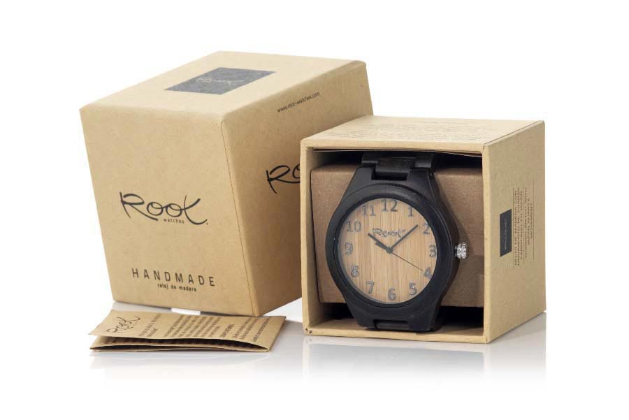Eco Watch made of Ebony RJST19 | Root® Watches