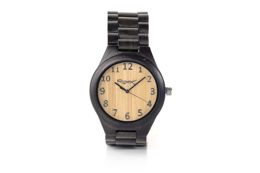 Reloj de Madera Ébano CLASSIC DARK | Root® Watches