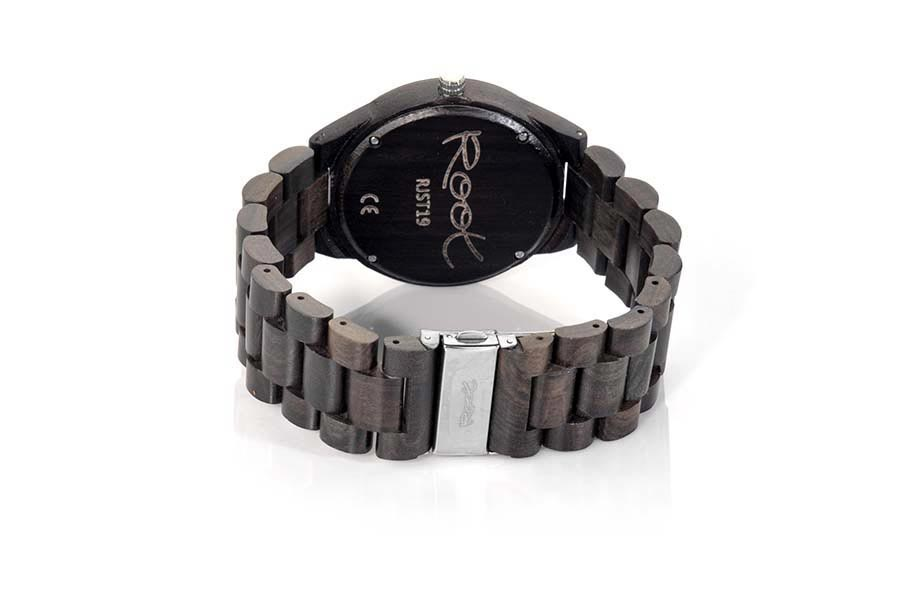 Eco Watch made of Ebony CLASSIC DARK | Root® Watches