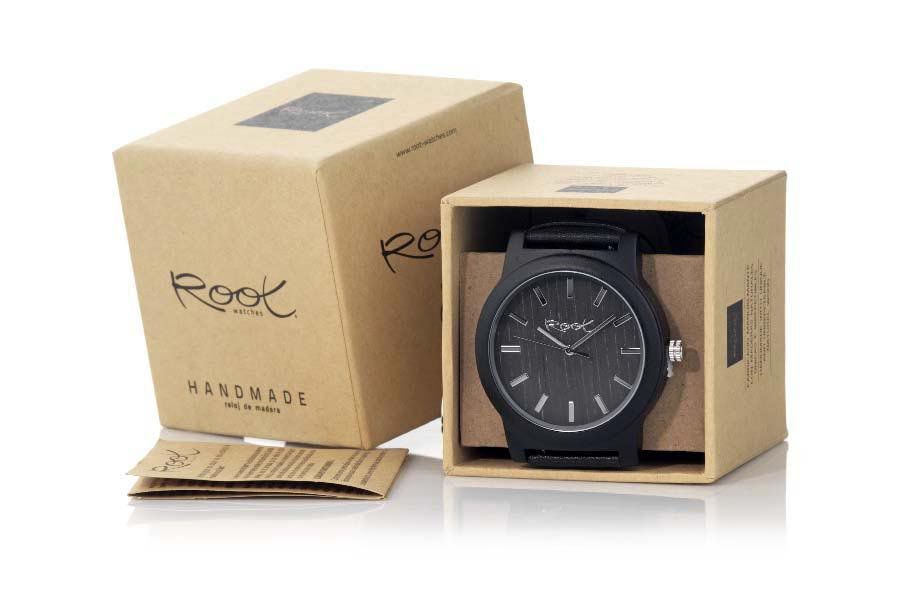 Eco Watch made of Ebony EBONY MOON | Root® Watches