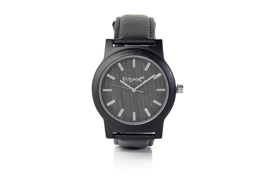 Eco Watch made of Ébano EBONY MOON | Root® Watches