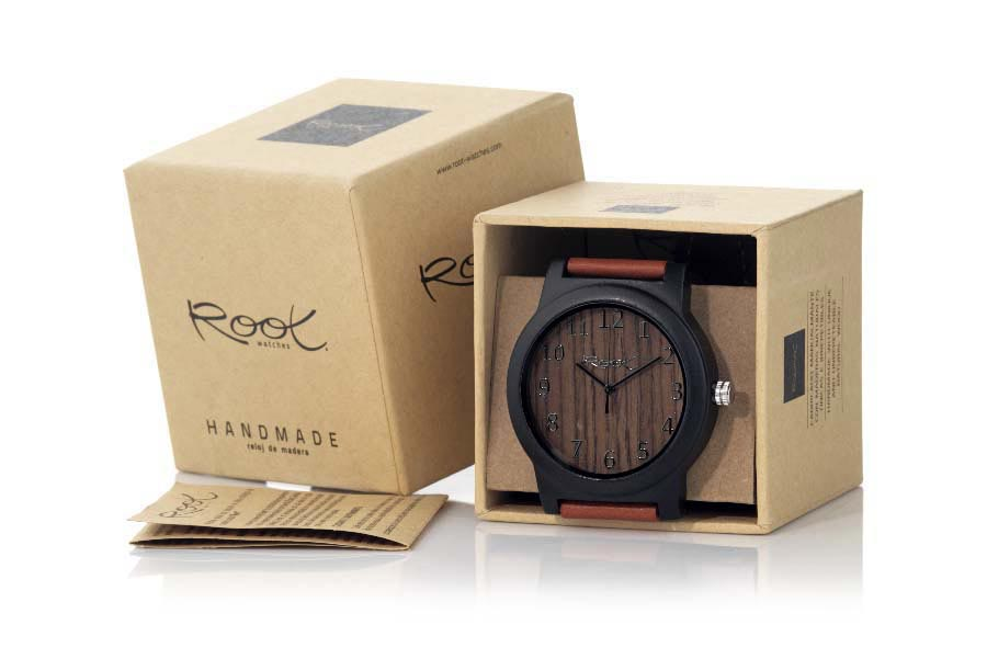 Eco Watch made of Ébano RJST21 | Root® Watches