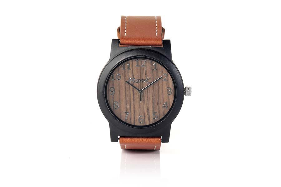Eco Watch made of Ebony RED MOON | Root® Watches