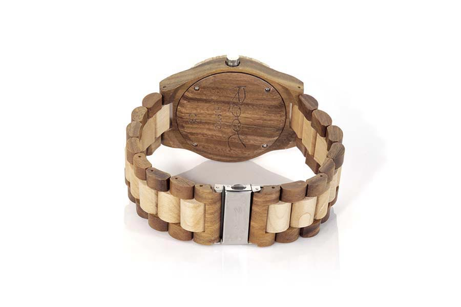 Reloj de Madera Zebrano ROMAN LIGHT | Root® Watches
