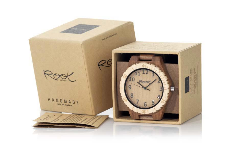 Eco Watch made of Zebrano RJST23 | Root® Watches