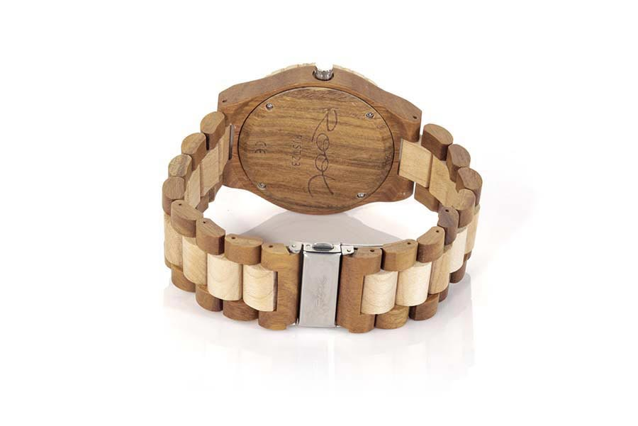 Eco Watch made of Zebrano SALAMANDER | Root® Watches