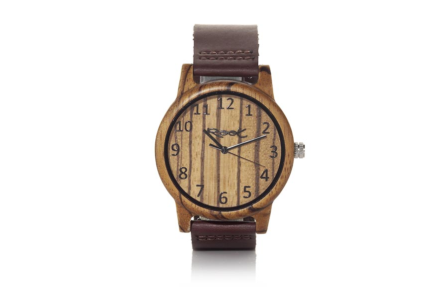 Eco Watch made of Zebra modelo WILD SANDED.  | Root® Watches