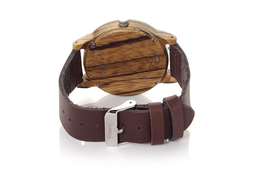 Eco Watch made of Zebra modelo WILD SANDED | Root® Watches