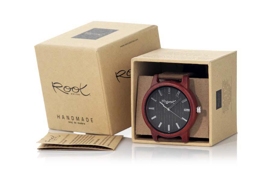 Eco Watch made of Sandalwood SOUND OF TIME | Root® Watches