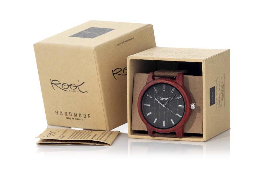 Gafas de Madera Natural de Sandal RJST25 | Root Sunglasses ®