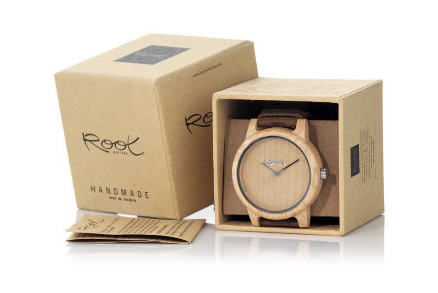 Eco Watch made of Maple modelo MINIMAL TIME | Root® Watches