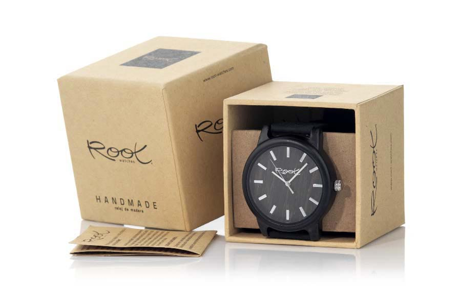 Reloj de Madera Ébano RJST28...  | Root® Watches