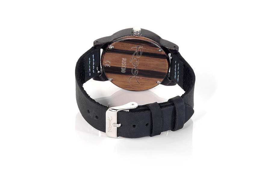 Eco Watch made of Ebony modelo BLUE DAY | Root® Watches