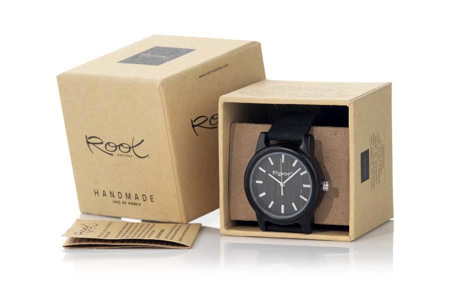 Eco Watch made of Ebony MARLON | Root® Watches