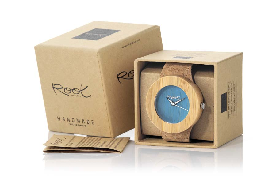 Eco Watch made of Bamboo modelo EBA BLUE | Root® Watches