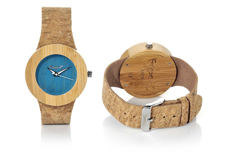 Reloj de Madera Bambú EBA BLUE | Root® Watches