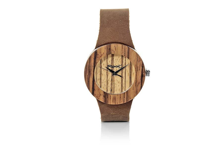 Eco Watch made of zebra modelo EBA WILD.  | Root® Watches