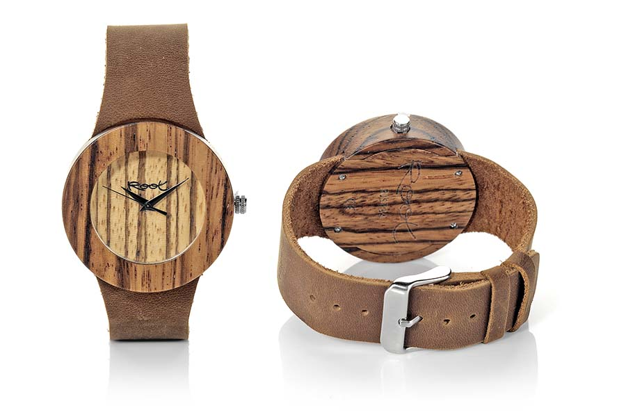 Eco Watch made of zebra EBA WILD | Root® Watches