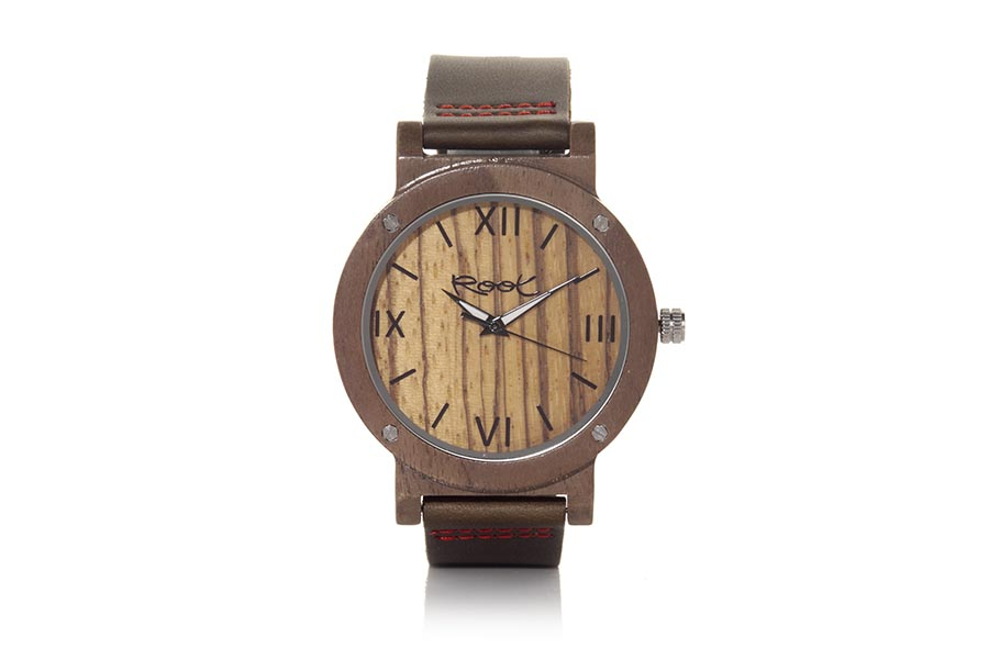 Reloj de Madera Nogal Negro IT GIRL | Root® Watches
