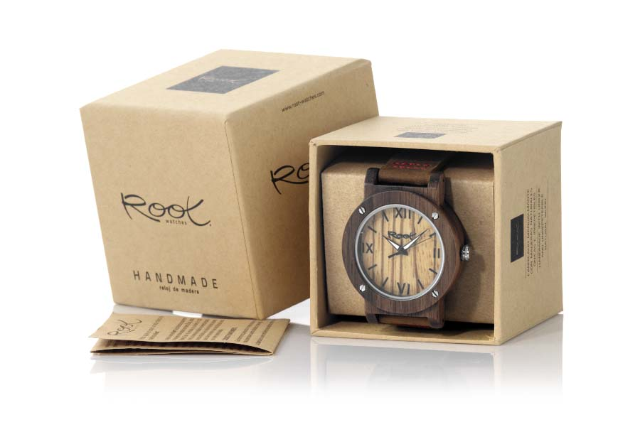 Eco Watch made of Black Walnut IT GIRL | Root® Watches