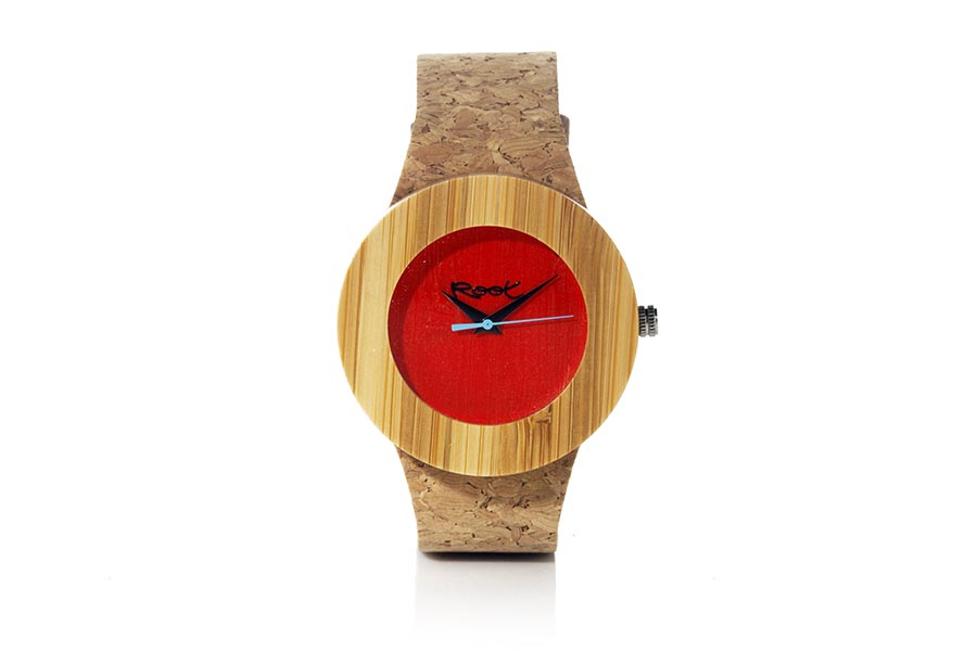 Eco Watch made of Bamboo modelo EBA RED.  | Root® Watches