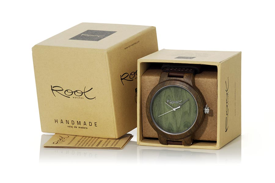 Eco Watch made of Sandal modelo GREEN NATURE | Root® Watches