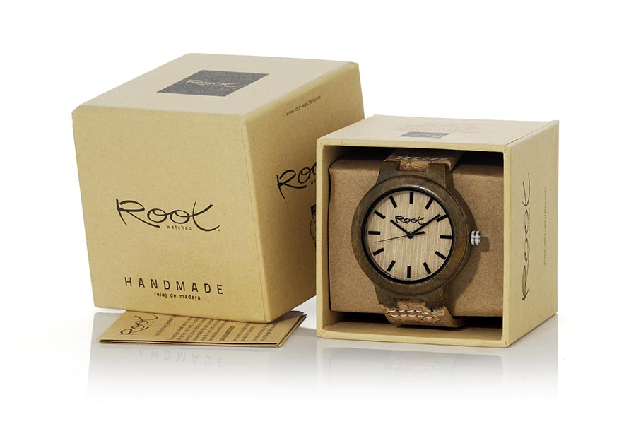Reloj de Madera Sandal CLASIC NATURE | Root® Watches