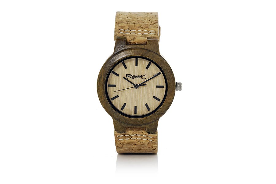 Eco Watch made of Sandal modelo CLASIC NATURE.  | Root® Watches