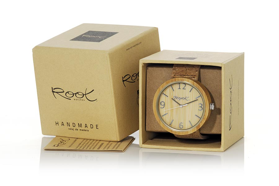 Eco Watch made of Bamboo modelo LIGHT DAY | Root® Watches