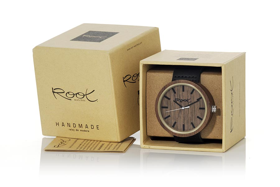 Eco Watch made of Walnut modelo DON | Root® Watches