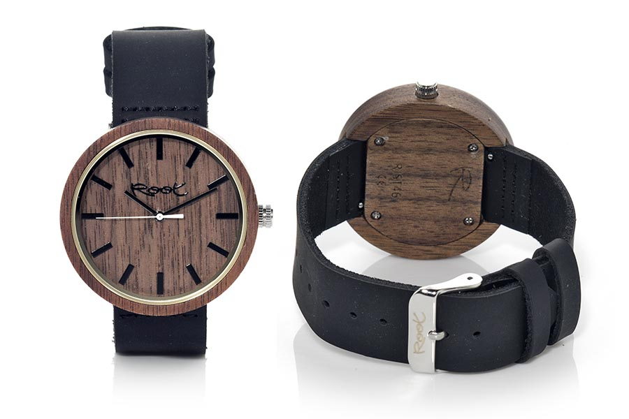 Reloj de Madera Walnut DON...  | Root® Watches