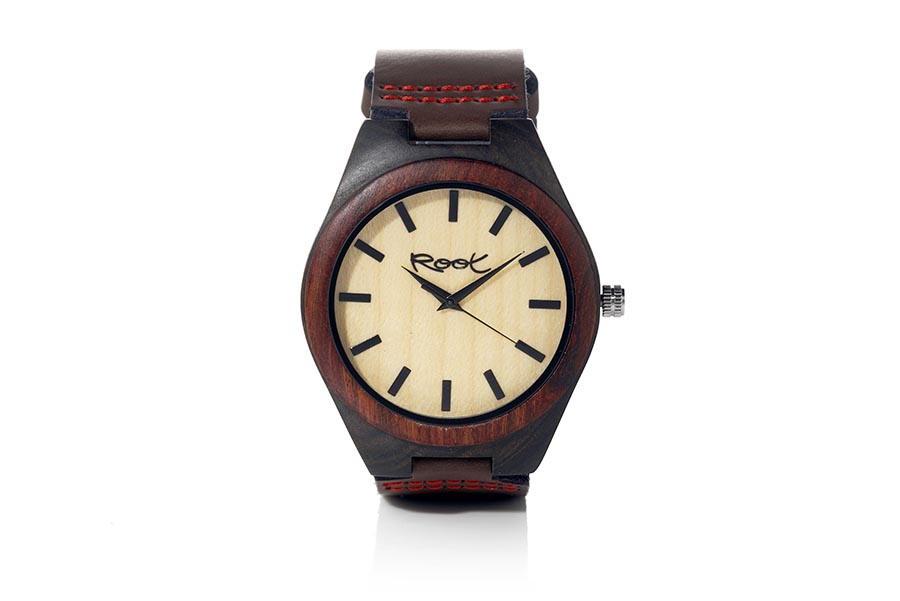 Eco Watch made of Ebony modelo KANGRY ROSEWOOD.  | Root® Watches