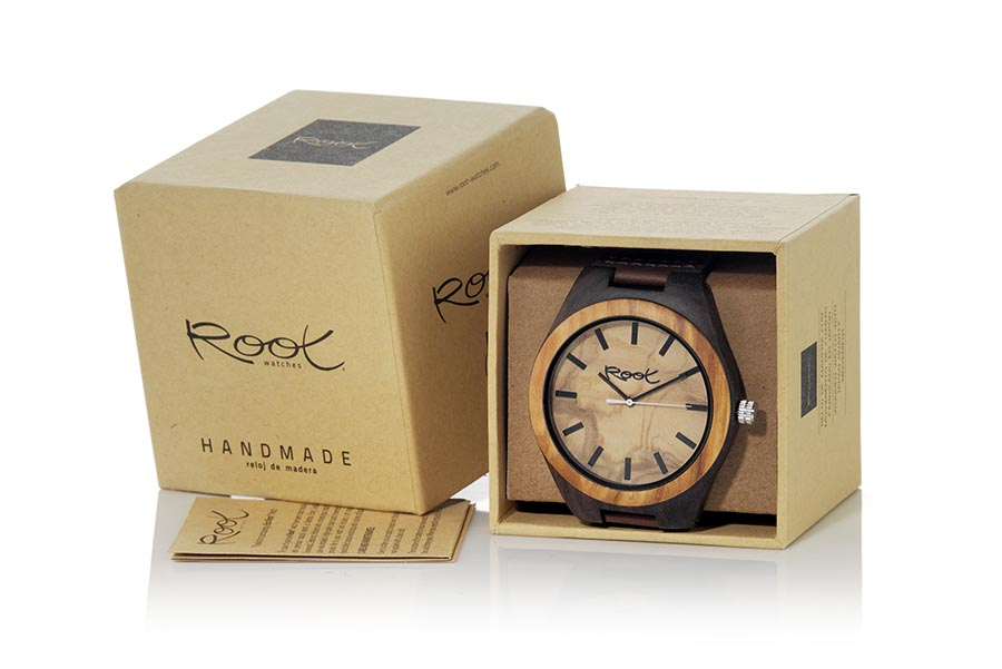 Eco Watch made of Ebony KANGRY OAK | Root® Watches