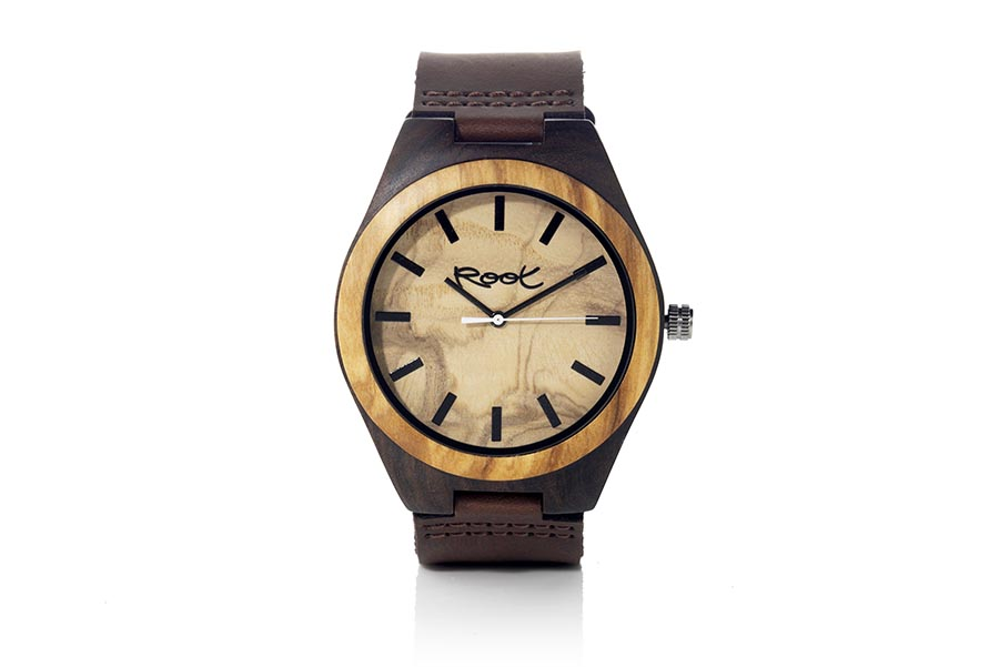 Eco Watch made of Ebony modelo KANGRY OAK.  | Root® Watches